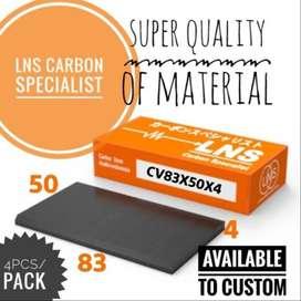 carbon vane 83x50x4mm