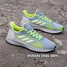 Adidas Solar Blaze Grey Neon