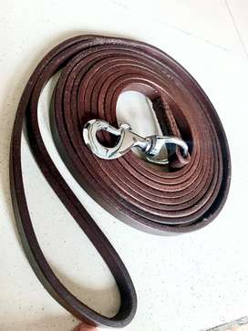 12ft leather leash