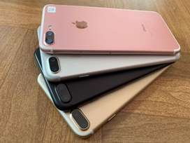 IPhone 7 plus 32Gb Rose dan Silver Kelengkapan : Fullset