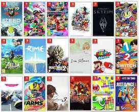All Original Nintendo switch games are available at the best price