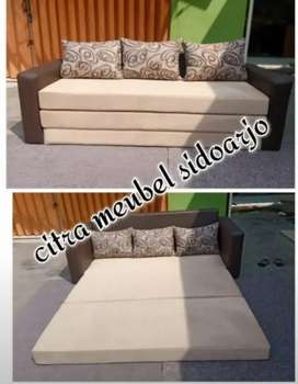 Sofa multifungsi bisa buat kasur