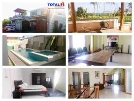Disewakan villa 2 lantai type 250/305 didaerah Bypass I. B  Mantra