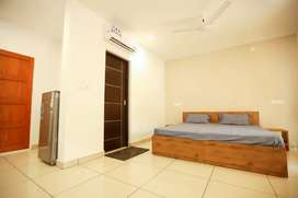 1 bhk fully furnished house for rent 2 bachelor only