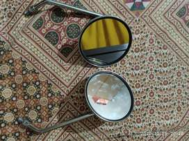Rear mirrors used