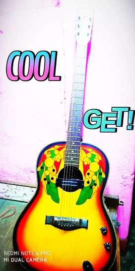 Electric Guitar, CRASM Guitar with black cover