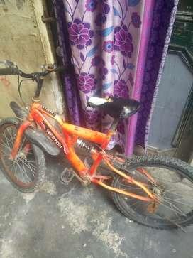 cycle mein thodi Kami hai
