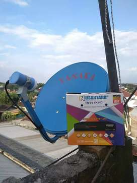 Paket Parabola Siaran Lokal Nasional Lengkap Gratis Selamanya