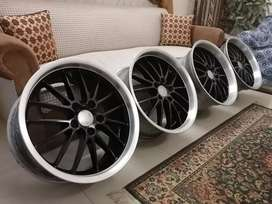 "18"" Allow rims  Orignal BBS staggereds"