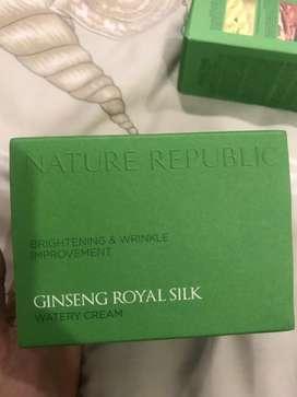 Original Nature repbulic gingseng royal silk