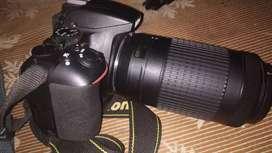 Nikon d3500 dual lense 18-55 and 70-300 two lense