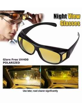 HD Vision Day and Night Drive Glasses 2 Pc's set