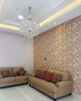 Hiasan dinding elegant dengan Wallpaper bahan terbaik kami