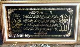 Promo Kaligrafi mewah ayat kursi uk 100 x 60 cm Hp/wa
