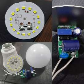 12w LED bulb raw material available @ 83 Rs only