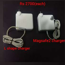 Macbook original chargers used in a very good condition