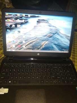 HpLaptop, Ram 4gb, processor Intel core i3-4010u cpu  1.70GHz