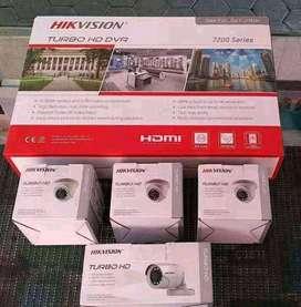Paket Kamera CCTV Hikvision 2Mp Komplit Berikut Pasang