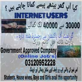 Online job for intrested people