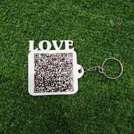 Customized key chain is available at rs.70/-