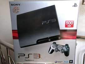 PS3 hdd 500 GB terisi full 50 game+PES 2018 World Cup 2018