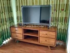 Meja TV Minimalis, Bufet TV, Rak TV Kayu Jati mpb13397