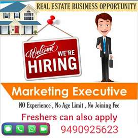 Required Real estate marketing associates