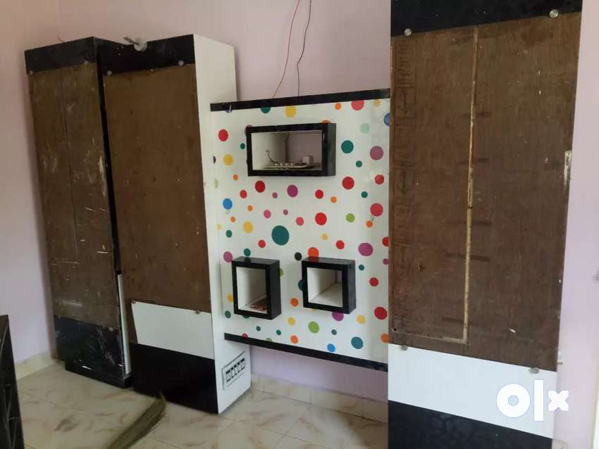 Hair salon mirror set and office partition 0
