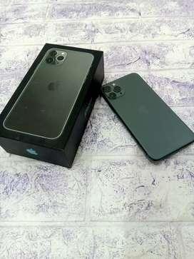iPhone 11 pro 64gb green like new inter ori