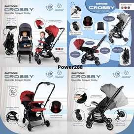 STROLLER Babydoes Crosby /Stroller 2 arah dorongan / Reversible/JOGJA