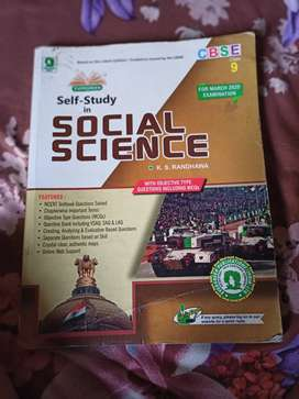 Class 9 sst self study book with Ncert question