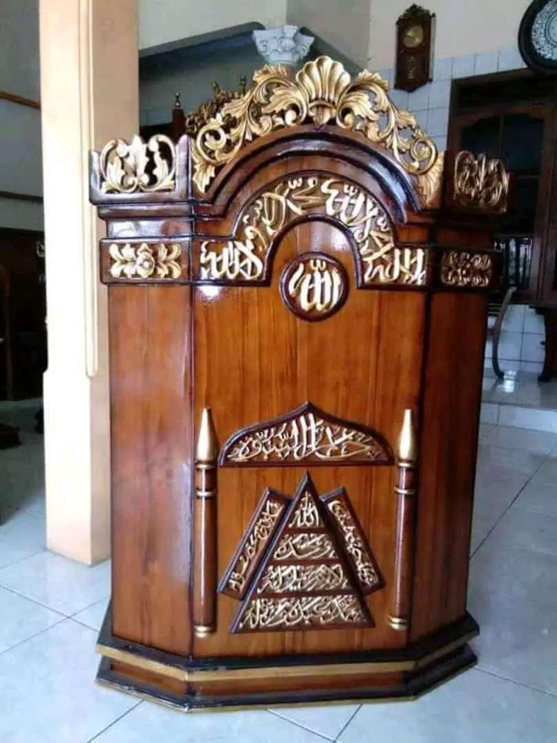 mimbar masjid berkualitas new 0