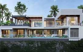 Jasa Arsitek Bali Desain Villa dan Ruko 730m2