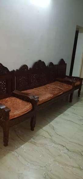 Antique designer  rosewood sofa set3+1+1