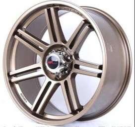 jual pelek mobil racing untuk fortuner Borah-HSR-Ring-22x95-H6x139,7