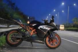 Ktm rc 200 neatly maintained