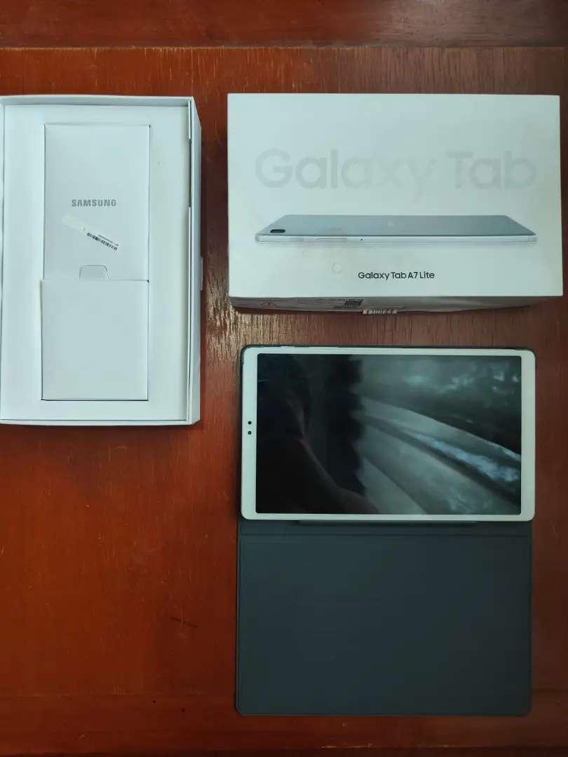Samsung Tab A7 Lite 3mggu pakai