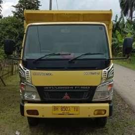 Canter Ps125hd dump truk tahun 2013 hd125ps dam dum truck