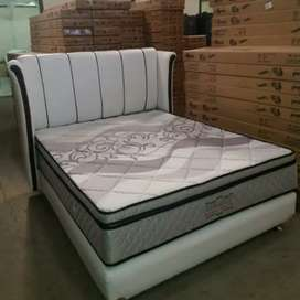Spring bed pillowtop 160