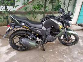 Yamaha FZS Matte Green bike for sale at Rs. 32000
