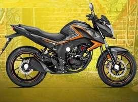 Honda CB hornet special edition (orange color)