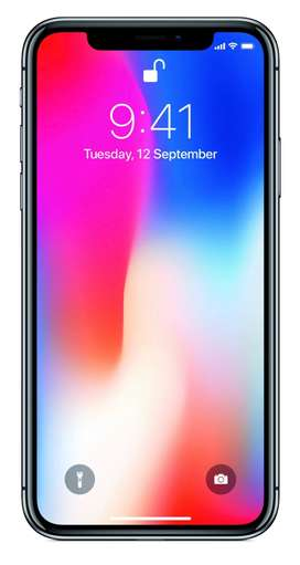 iphone X 64 gb, black colour