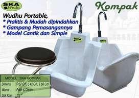 wudhu portable modern atau tempat wudhu portable praktis