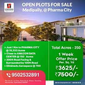 Open plots