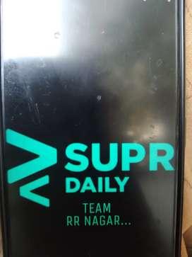 Supr daily delivery job (RR Nagar)Area