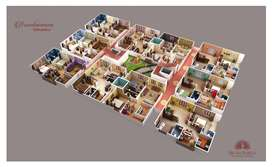 2BHK LUXURY FLTAS, CRDA Approved ,Retierment homes near Gannavaram.
