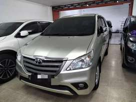Toyota kijang innova 2,5 G DSL manual tahun 2014 kondisi terawat