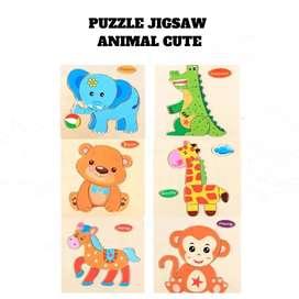Puzzle anak-anak kecil
