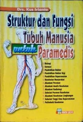 Buku struktur dan fungsi tubuh manusia untuk paramedis