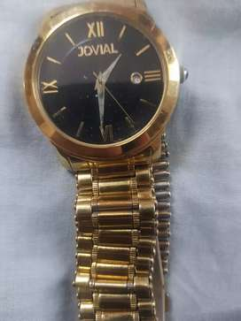 JOVIAL Genuine Gold Plated Watch